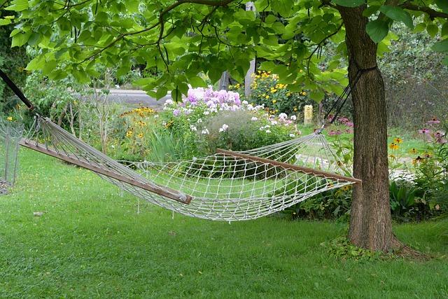 hamac de jardin